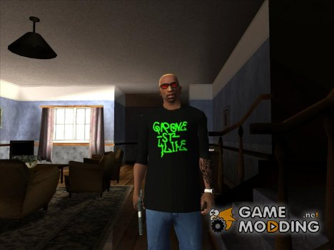 Grove Street Shirt for GTA San Andreas