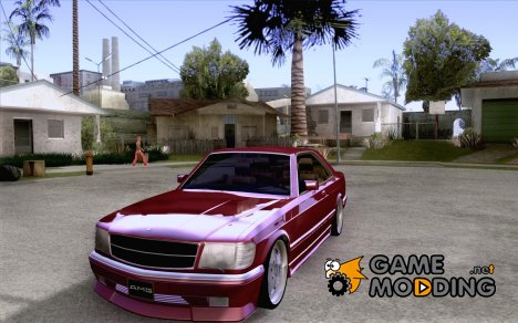Mercedes-Benz 560 Sec AMG для GTA San Andreas