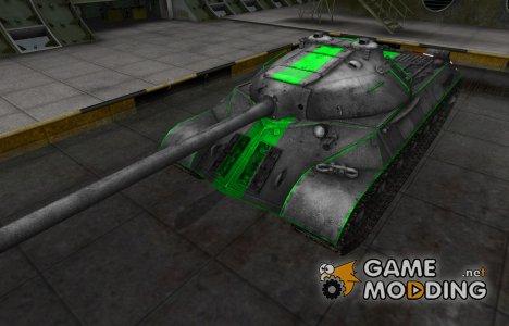 Скин для ИС-3 с зеленой полосой для World of Tanks