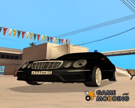 Mercedes-Benz W211 E63 AMG для GTA San Andreas