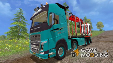 Volvo 750 Лесовоз для Farming Simulator 2015