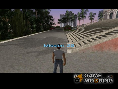 Vice City Mission Loader для GTA Vice City