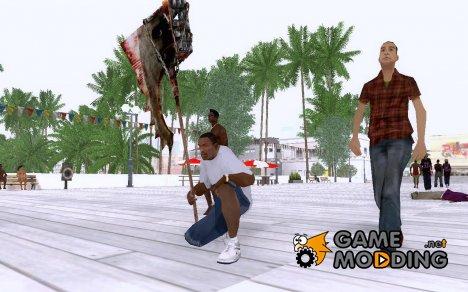 Топор палача для GTA San Andreas