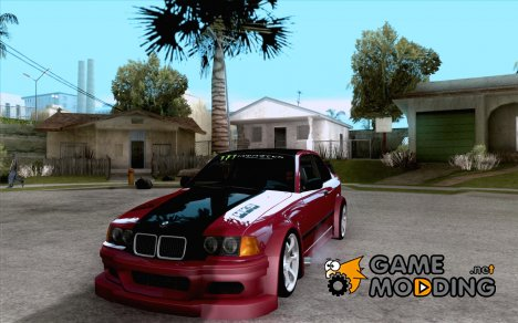 BMW E36 Wide Body Drift for GTA San Andreas