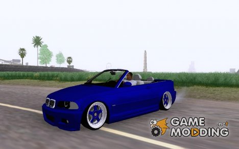 BMW E46 M3 Cabrio for GTA San Andreas