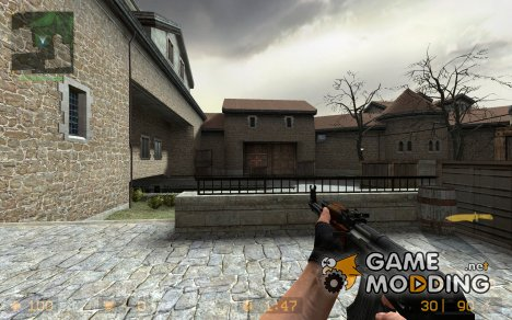 Stockless Ak-47 for Counter-Strike Source