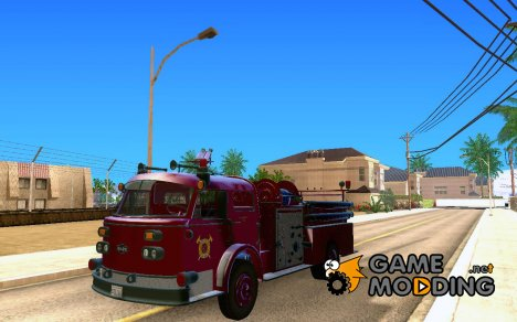 American LeFrance Pumper 1960 for GTA San Andreas