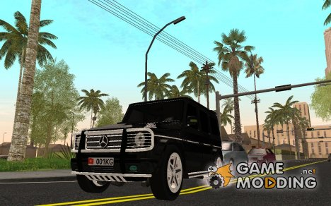 Mersedes-Benz G65 AMG for GTA San Andreas