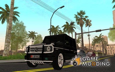 Mersedes-Benz G65 AMG для GTA San Andreas