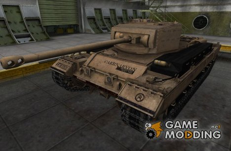 Шкурка для Caernarvon for World of Tanks