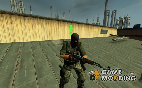 Phoenix Woodland для Counter-Strike Source