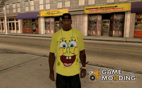 Spongebob OUTFIT for GTA San Andreas