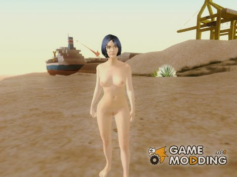 Halo 4 Cortana (Human) Nude for GTA San Andreas