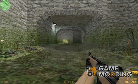 Wooden MP5 for Counter-Strike 1.6