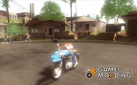 Урал Турист с коляской for GTA San Andreas