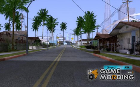 Digital Speedometer для GTA San Andreas