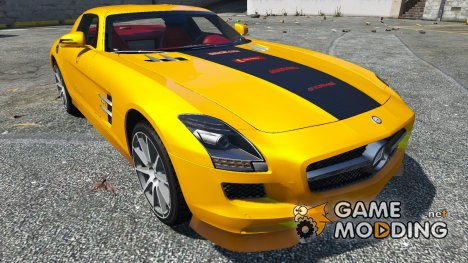 2011 Mercedes-Benz SLS AMG C197 1.0 for GTA 5