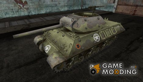 Шкурка для M10 Wolverine for World of Tanks