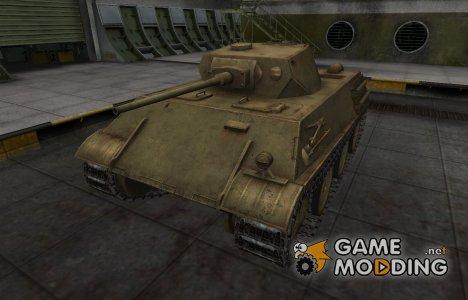 Пустынный скин для танка VK 28.01 для World of Tanks