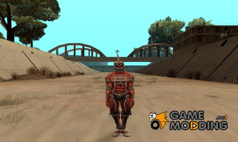 Lord Zed From Power Rangers для GTA San Andreas