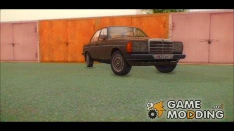 "Mercedes-Benz 230 W123 ""Отреставрированный"" для GTA San Andreas"