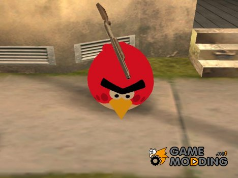 Red from Angry Birds для GTA San Andreas