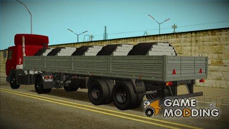 Полуприцеп МАЗ 9397 для GTA San Andreas