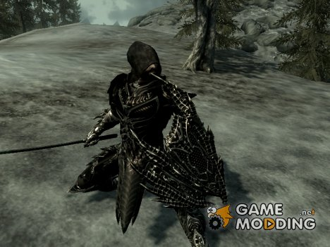 Daedric Light Armor for TES V Skyrim