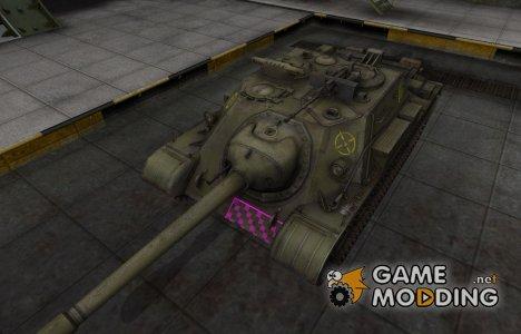 Качественные зоны пробития для СУ-122-54 для World of Tanks