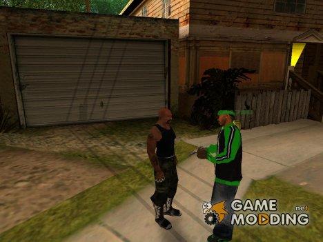 Сиджей может разговаривать (v2.0) for GTA San Andreas
