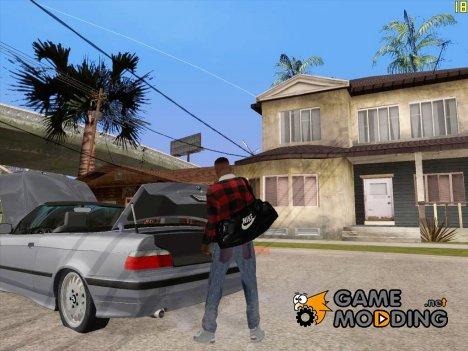 Открыть багажник или капот руками для GTA San Andreas