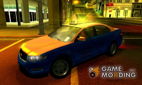 "Vapid Interceptor: ""Downtown Cab Co."" для GTA San Andreas"