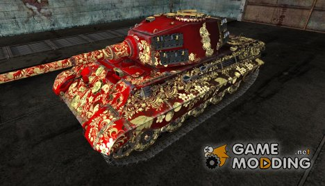 PzKpfw VIB Tiger II (Коровлеский Тигр по-русски!) for World of Tanks