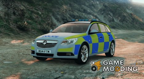 Police Vauxhall Insignia Estate v1.1 for GTA 5