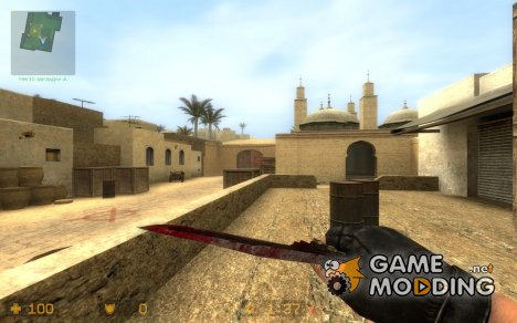 Bloody butterfly V1 for Counter-Strike Source