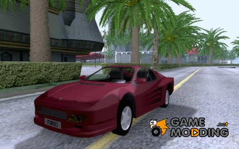 Ferrari 512 TR (Alpha) for GTA San Andreas