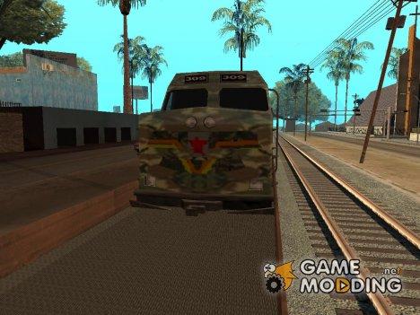 Пак реальных поездов V.1 от VONE for GTA San Andreas