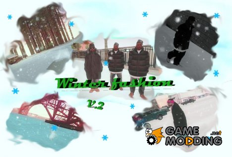 Winter fashion v.2 для GTA San Andreas