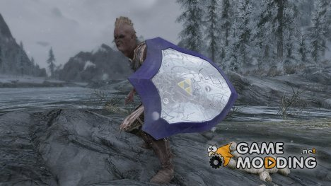 The Legend of Zelda - Mirror Shield of the Great Sea для TES V Skyrim