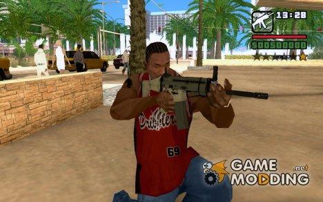FN Scar from Left 4 Dead 2 для GTA San Andreas