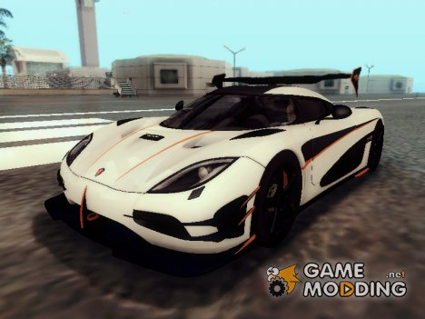 Koenigsegg Agera RS for GTA San Andreas