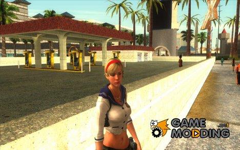 Шерри из Наёмников Resident evil 6 для GTA San Andreas