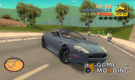 "Aston Martin DBS ""TT Black Revel"" для GTA 3"