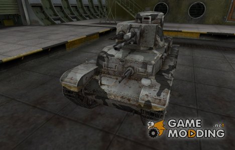 Шкурка для немецкого танка PzKpfw 35 (t) для World of Tanks