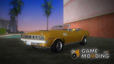 Plymouth Cuda Convertible for GTA Vice City