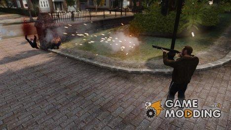 Реальный урон оружия for GTA 4