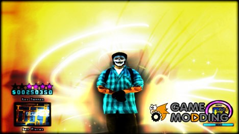C-HUD Hapaxe v7 для GTA San Andreas