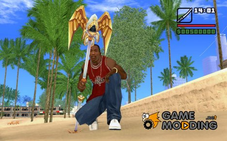 Посох из World of Warcraft для GTA San Andreas