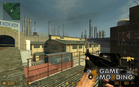 Black Colt M16A4 для Counter-Strike Source