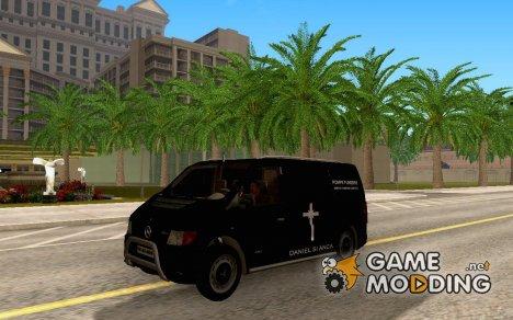 Mercedes-Benz Vito Pompe Funebre для GTA San Andreas
